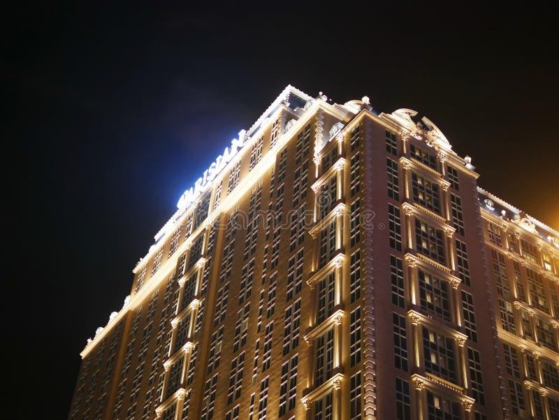 Parisare Macao royaltyfri foto