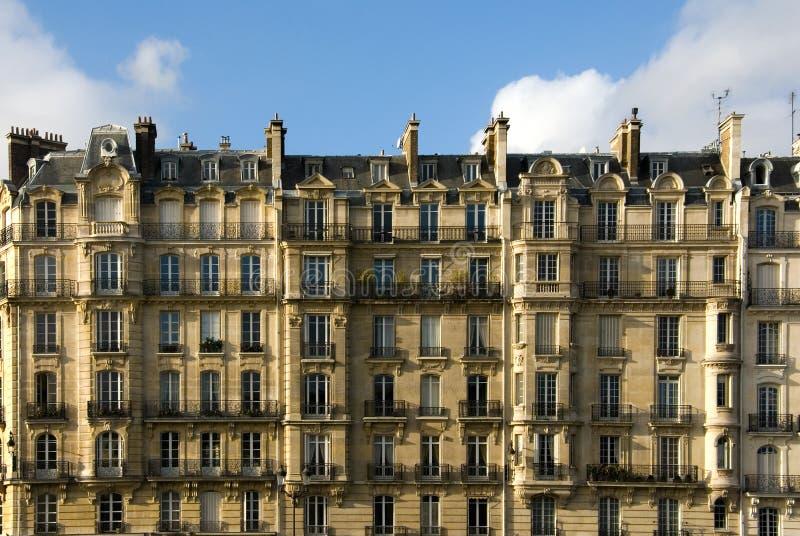 Pariser Architektur stockbilder