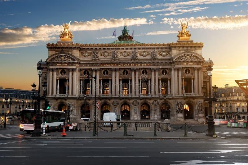 Pariser großartige Oper lizenzfreies stockbild
