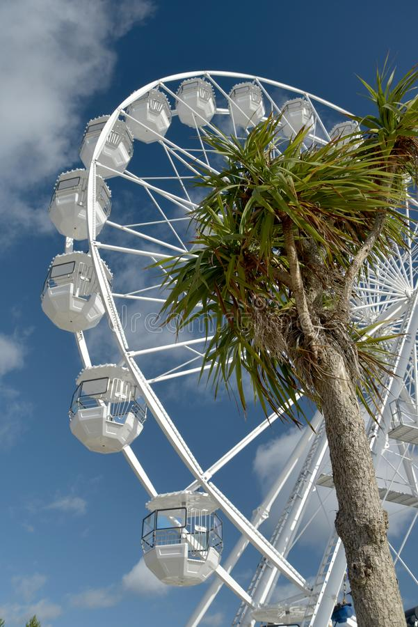 Pariserhjul på Bournemouth promenad, Dorset royaltyfri bild