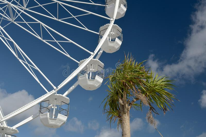 Pariserhjul på Bournemouth promenad, Dorset arkivbild