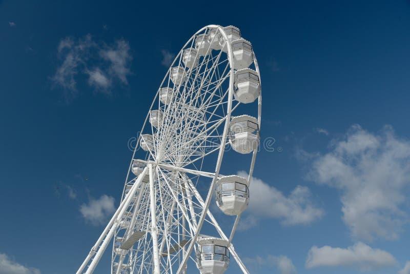 Pariserhjul på Bournemouth promenad, Dorset arkivbilder