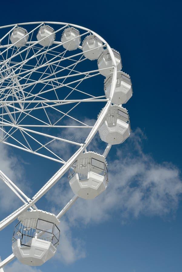 Pariserhjul på Bournemouth promenad, Dorset royaltyfria bilder
