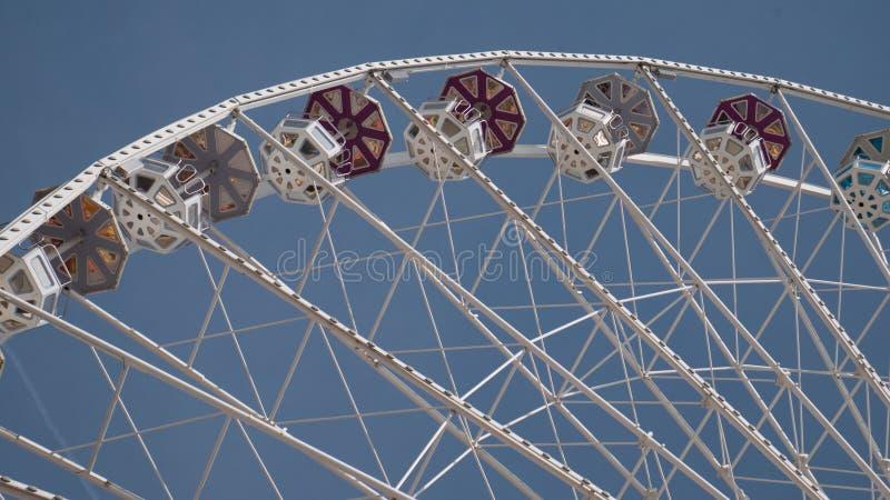 Pariserhjul på Prater vienna royaltyfria foton