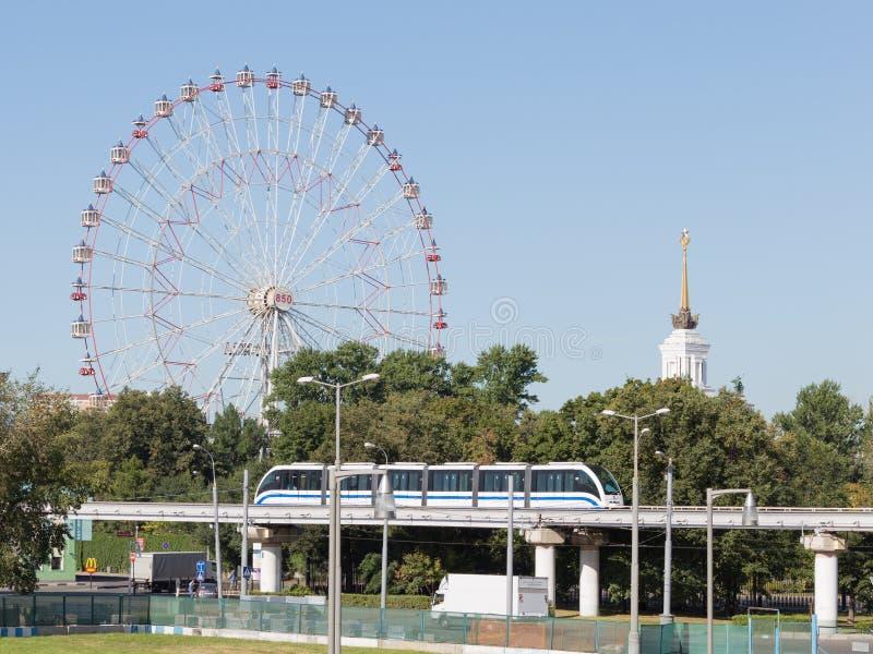Pariserhjul på utställningen av ekonomiska prestationer royaltyfri foto