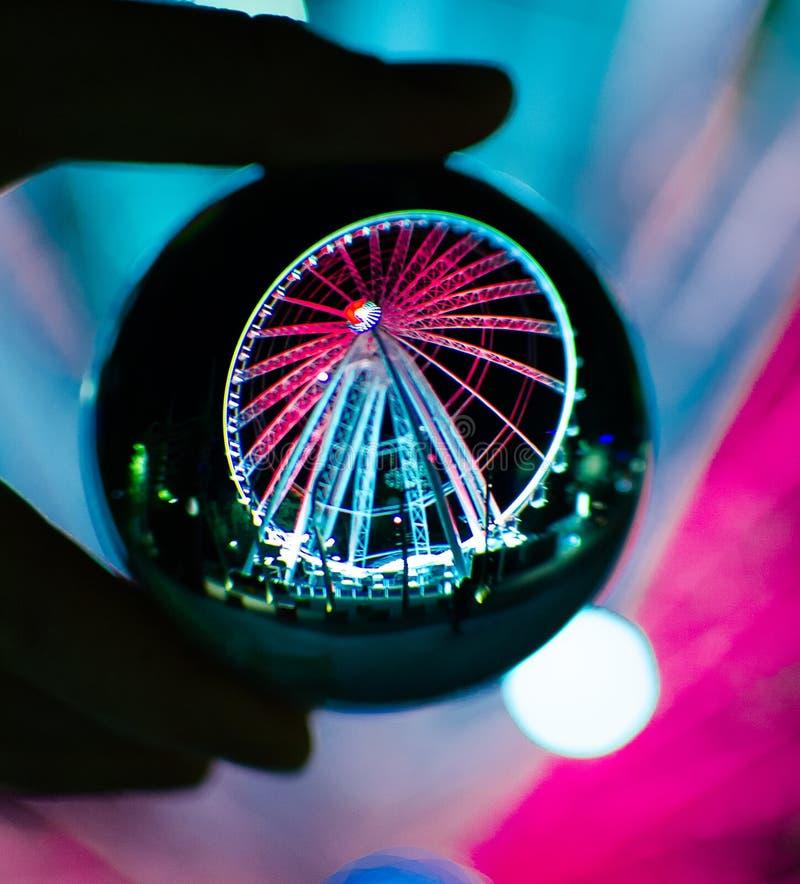 Pariserhjulboll fotografering för bildbyråer