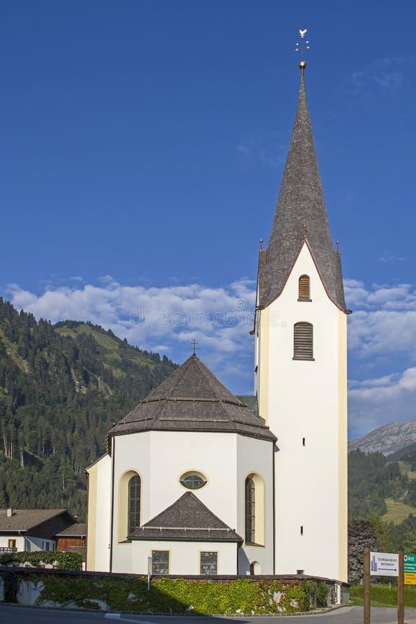 Parish church of Bichlbach royalty free stock images