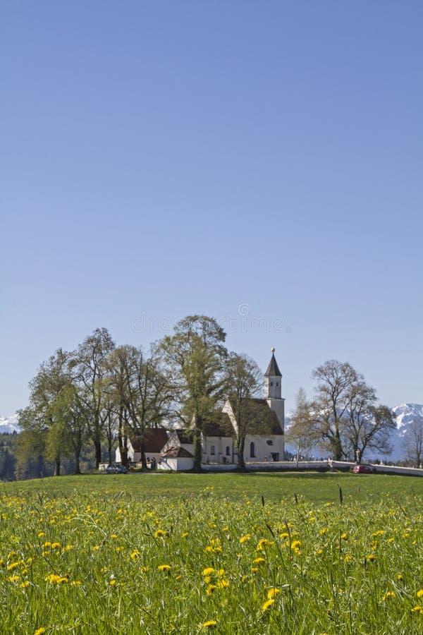 Parish church of Dietramszell royalty free stock photo