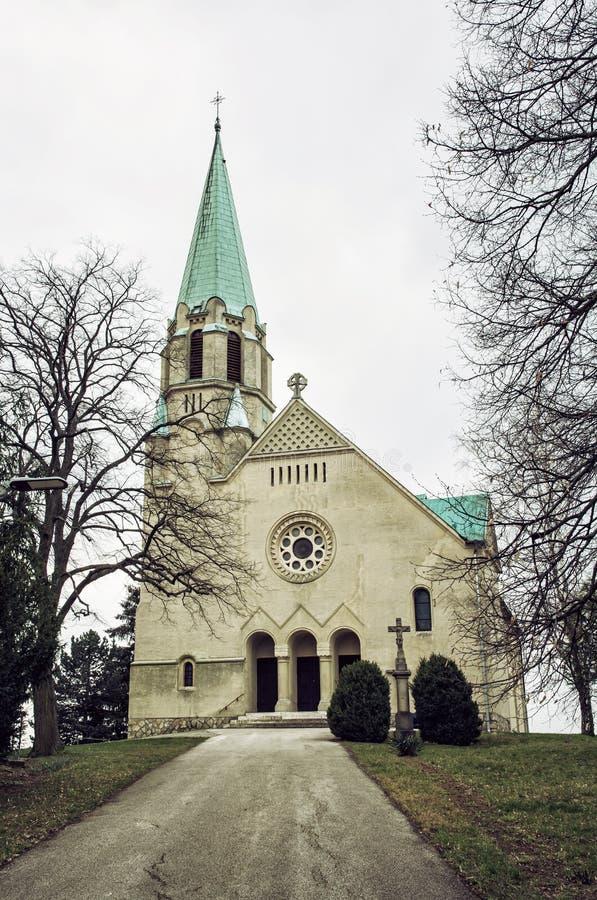 Free Parish Church Of Saint Stephen King, Nove Sady, Slovakia, Vertic Royalty Free Stock Photos - 69702328