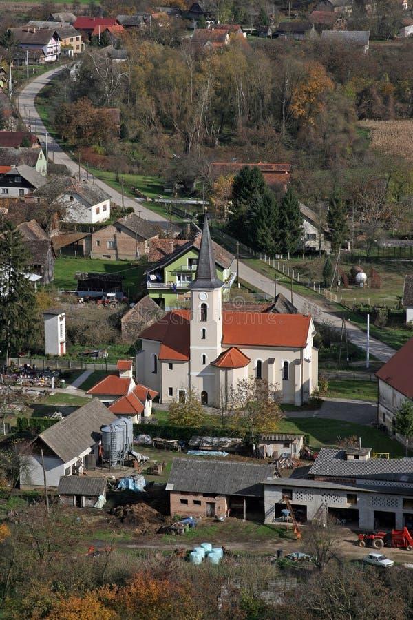 Church of Saint Roch in Kratecko, Croatia. Parish Church of Saint Roch in Kratecko, Croatia stock photo