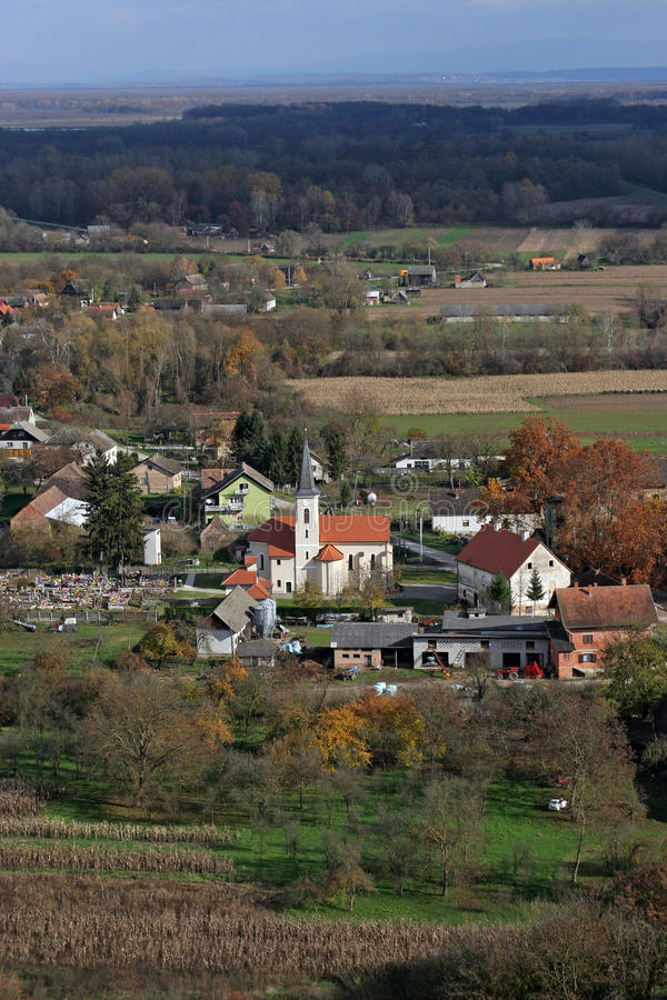 Church of Saint Roch in Kratecko, Croatia. Parish Church of Saint Roch in Kratecko, Croatia royalty free stock image
