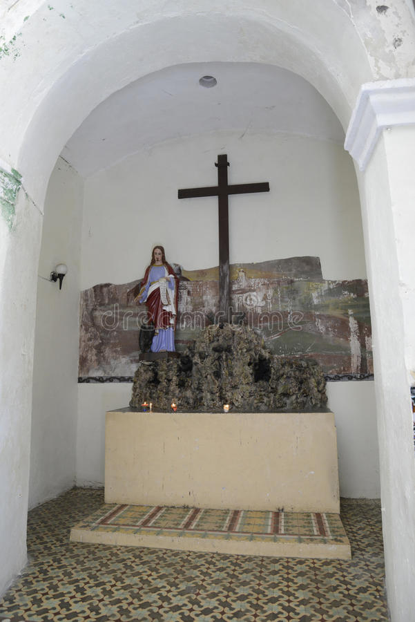 Parish Church of San Dionisio royalty free stock photography