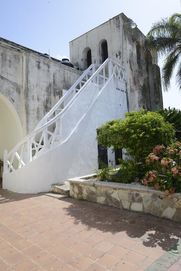 Parish Church of San Dionisio royalty free stock photos