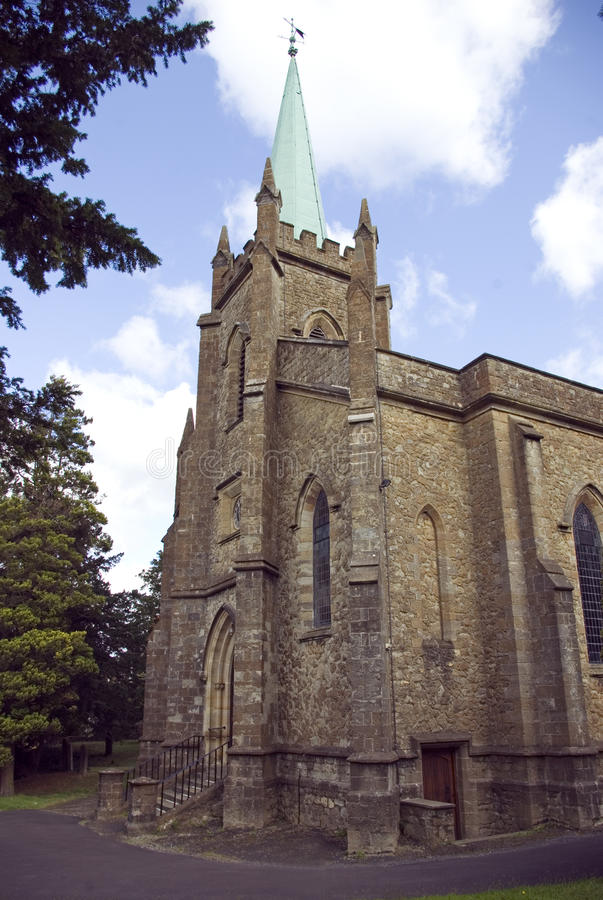 The Parish Church of St Mary the Virgin royalty free stock photography