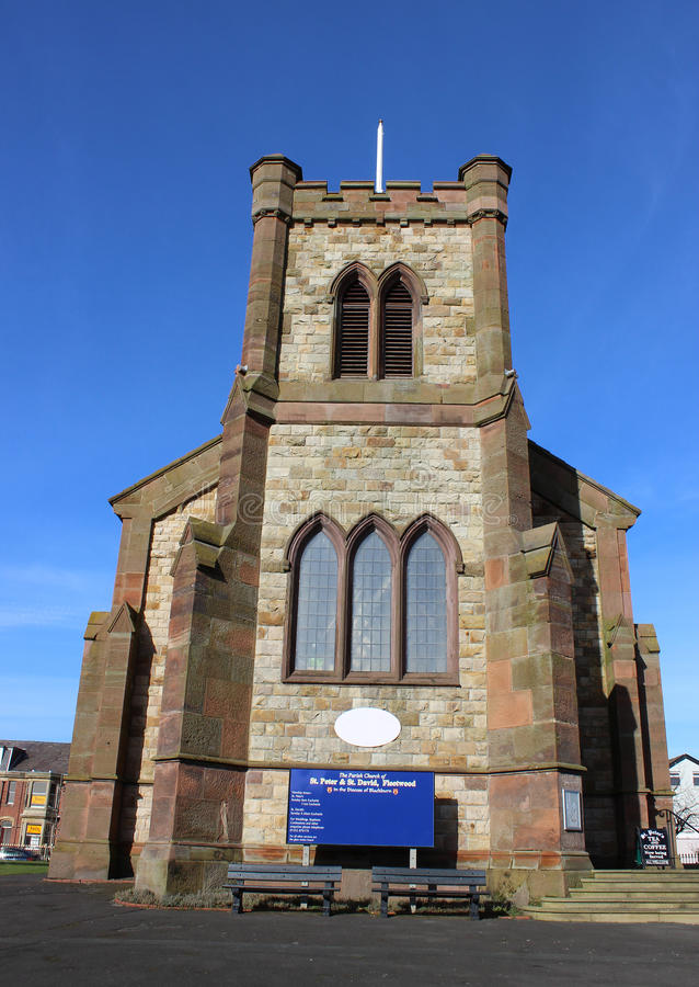 Parish Church of St Peter, Lord Street, Fleetwood royalty free stock images