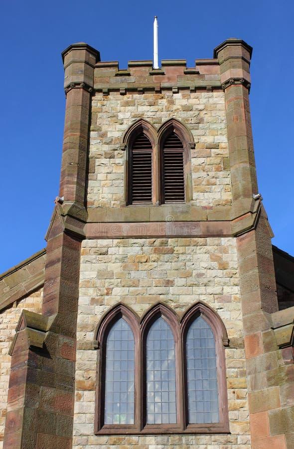 Parish Church of St Peter, Lord Street, Fleetwood stock photos