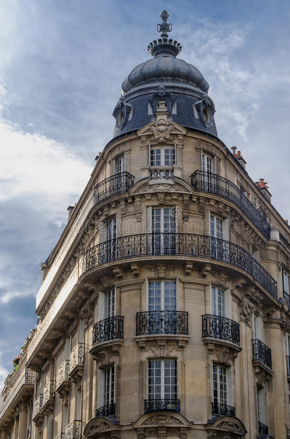 Parisian Architecture Stock Image Image Of Culture