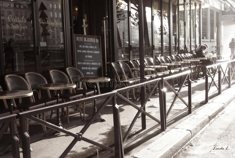 Download Parisian Cafe stock photo. Image of gastronomy, gourmet - 24911738