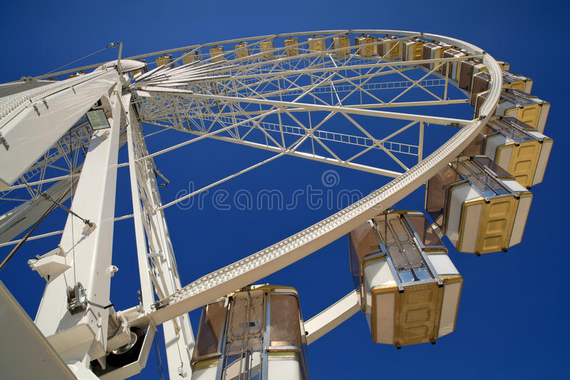 Parisian Ferris Wheel stock photo