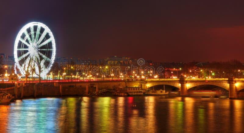 Parisian Night stock photos