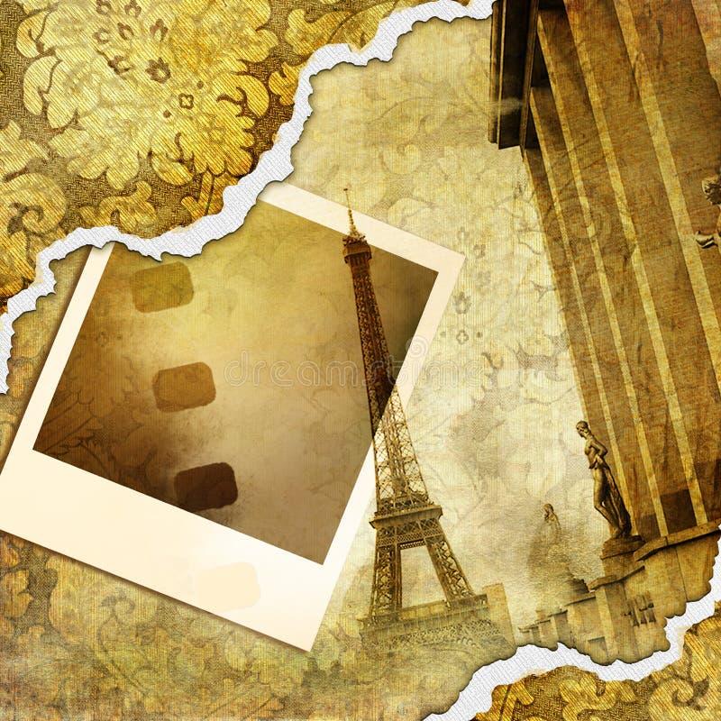 Download Parisian photoalbum stock illustration. Image of city - 6894923