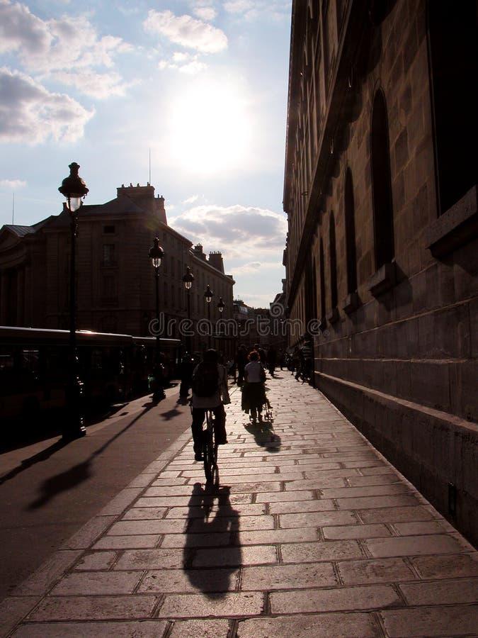 parisian street obrazy stock