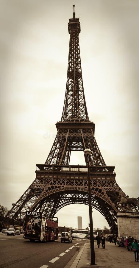 Parisian Street Scene stock images