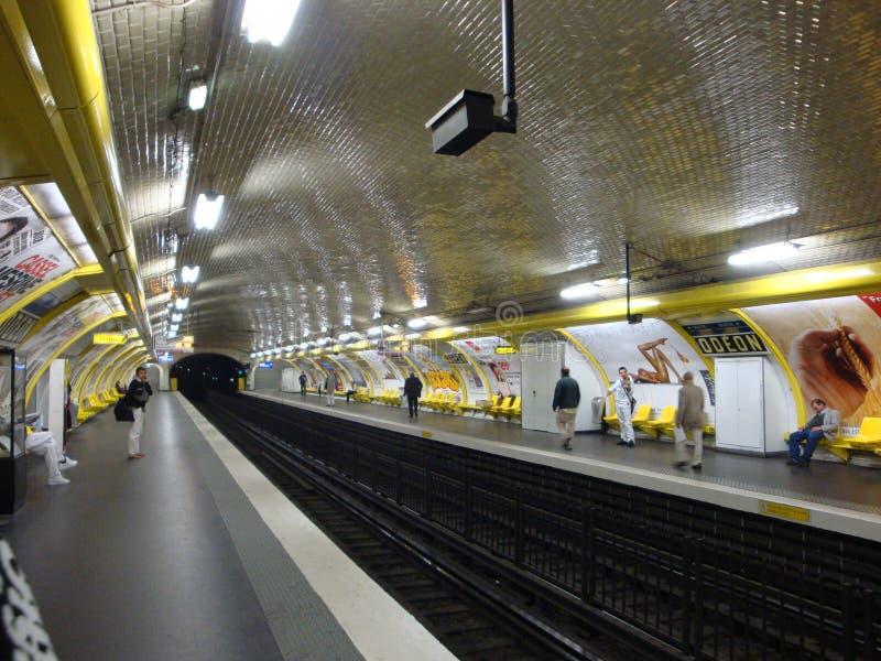 Parisienne ondergronds royalty-vrije stock fotografie