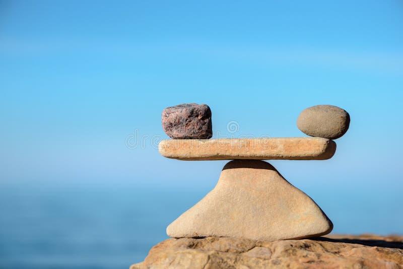 Parität von Steinen stockfotografie