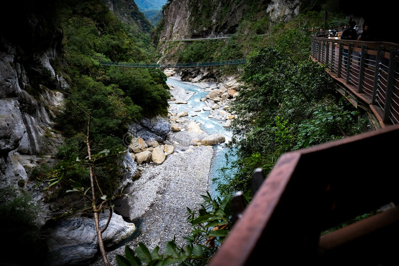 Parknacional Taiwande Taroko imagem de stock