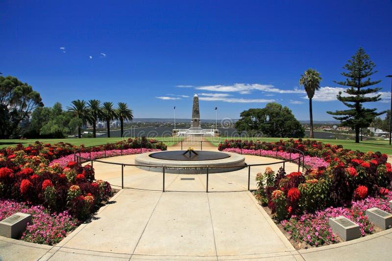 park,珀斯,澳大利亚西部国王 免版税库存图片