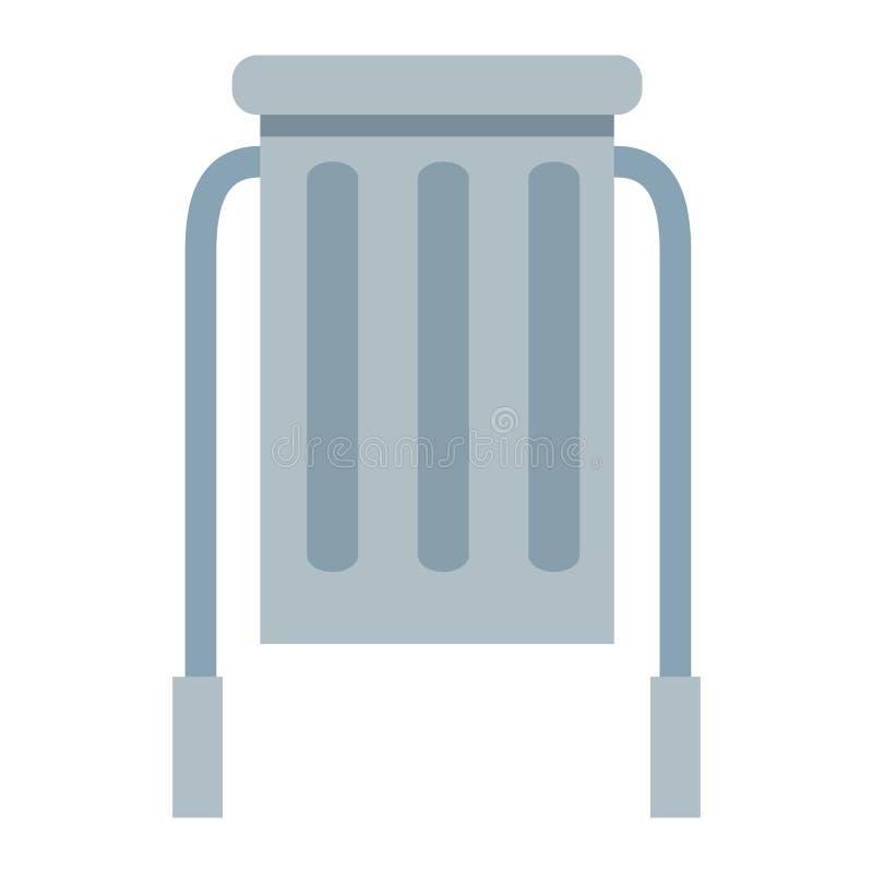 Park återanvänder facksymbolen royaltyfri illustrationer