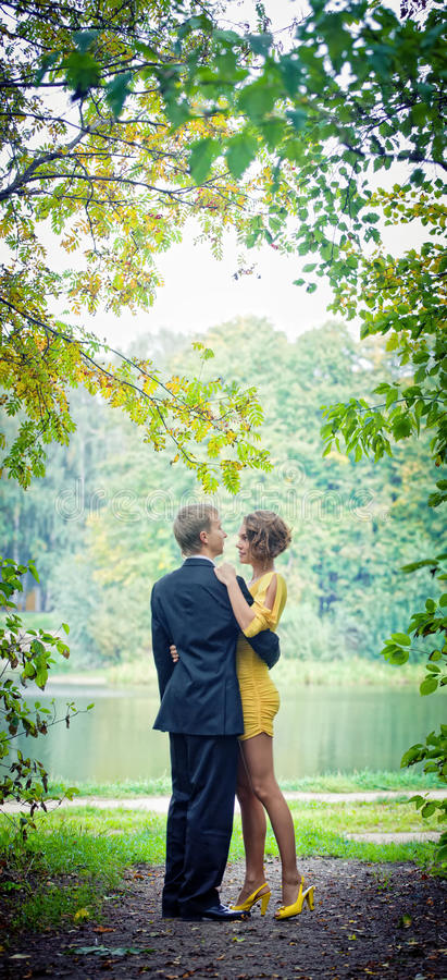 In a park royalty free stock photo