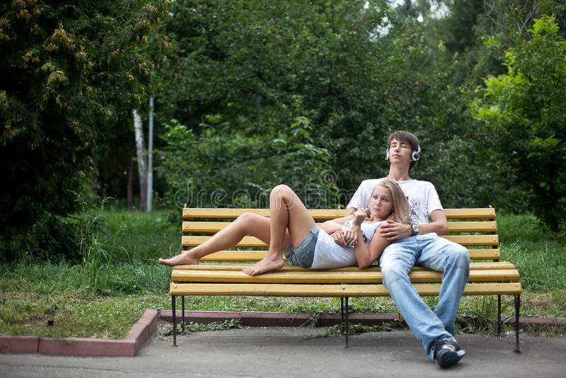 Download In the park stock image. Image of recreation, young, summer - 23660175