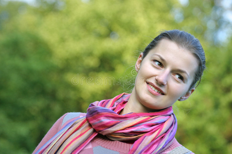 In the park. stock photography