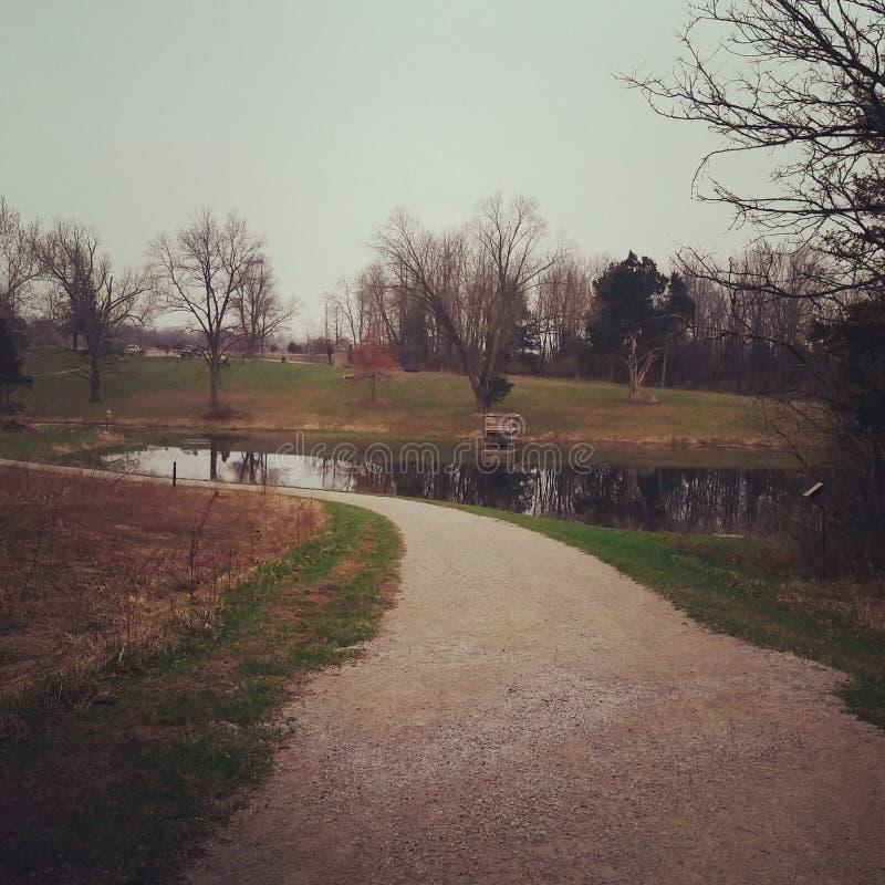 Park royalty-vrije stock foto