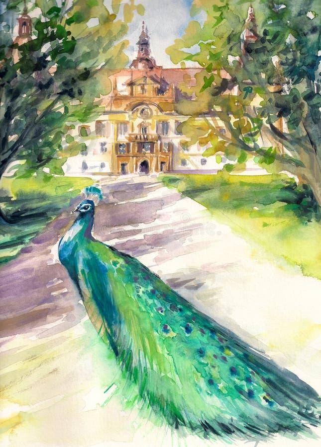 Park royalty ilustracja