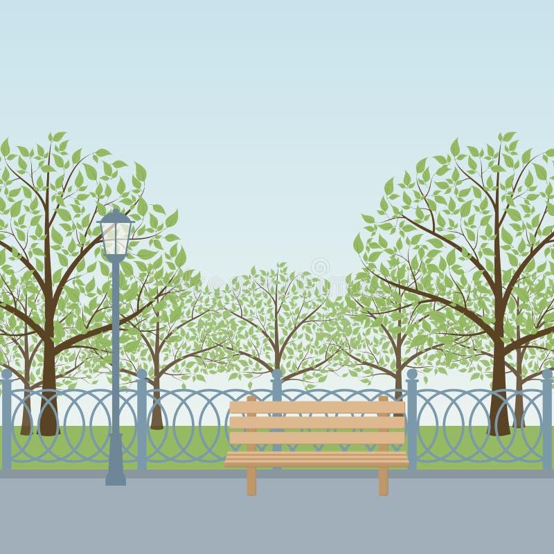 Park ilustracja wektor