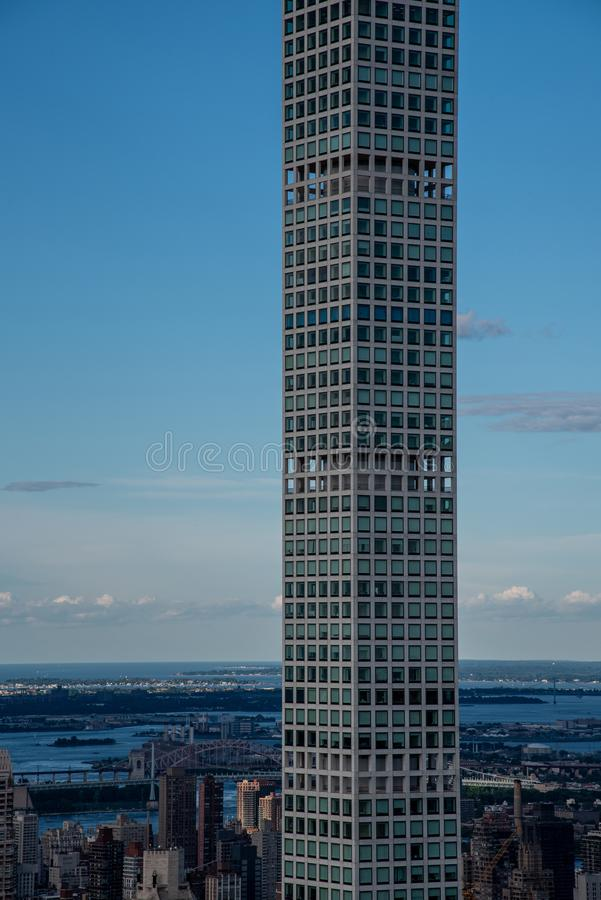 432 Park Avenue building in Manhattan (NYC, USA. 432 Park Avenue in NYC is the tallest residential building in the world stock images