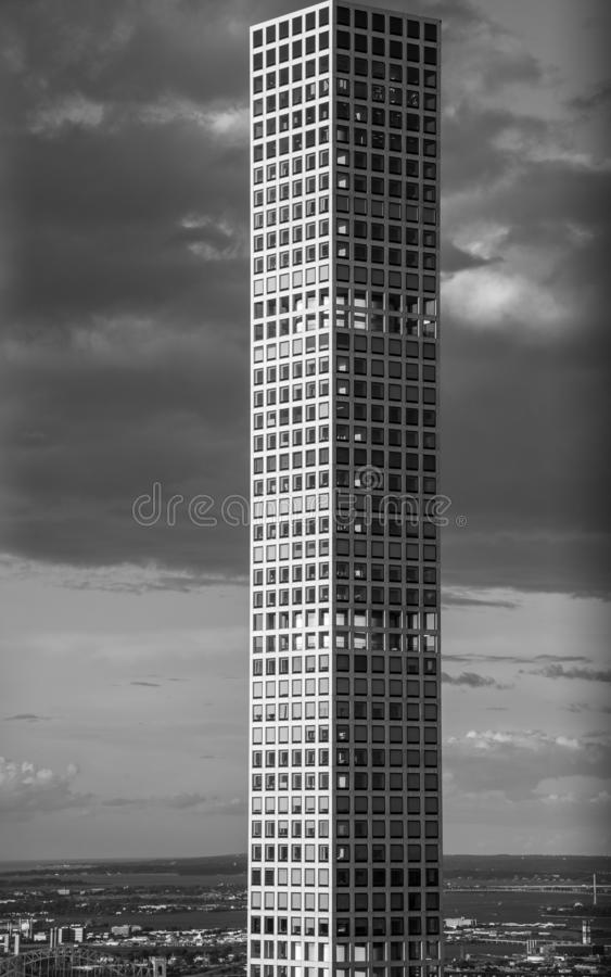 432 Park Avenue building in Manhattan (NYC, USA. 432 Park Avenue in NYC is the tallest residential building in the world stock photography