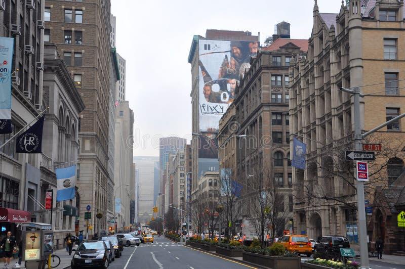 Park Avenue, Manhattan, New York City royalty free stock images