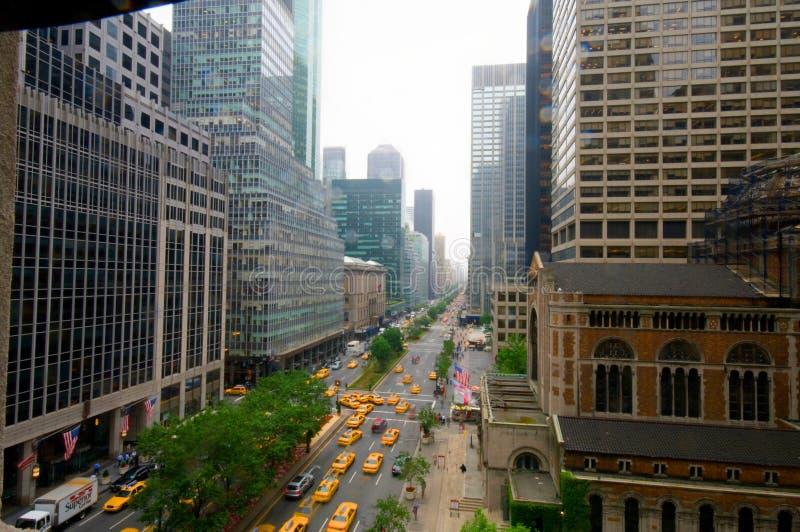 Park Avenue, Miasto Nowy Jork, Nowy Jork fotografia stock