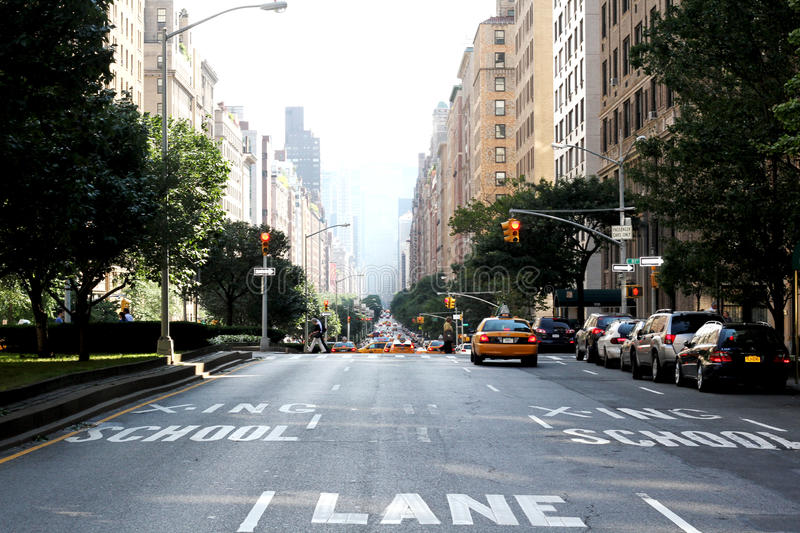 Download Park Avenue NYC editorial photo. Image of address, upper - 33350106