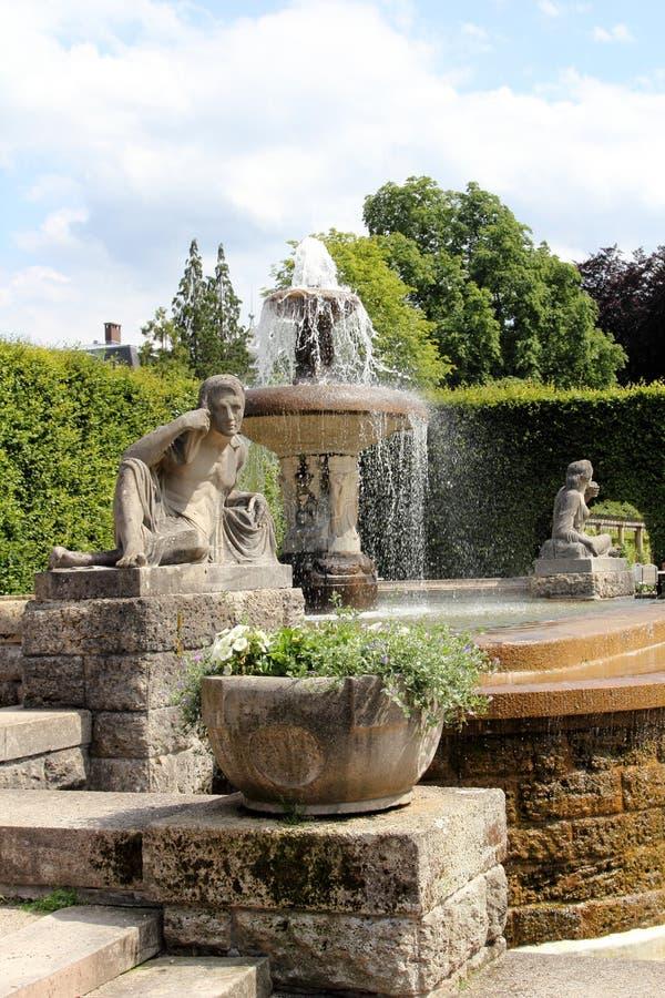 Park in Baden-Baden, Germany stock photo