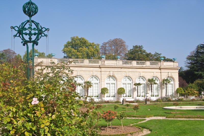 Park Bagatelle in the Bois de Boulogne in Paris royalty free stock photo