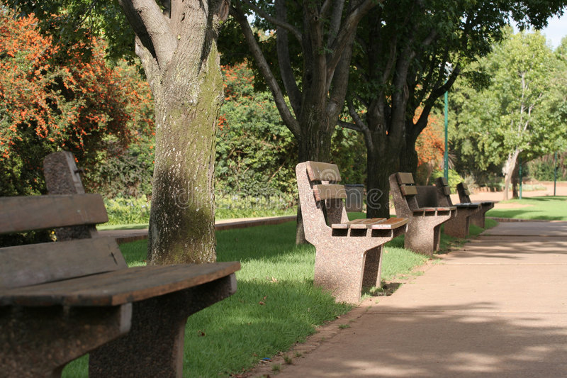 Download Park bench stock photo. Image of wait, walk, time, afternoon - 473034