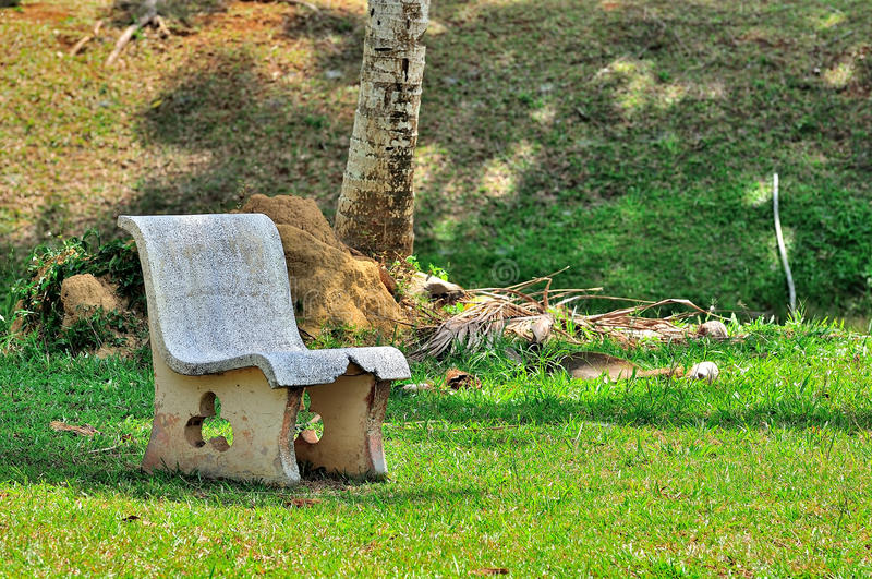 Download Park bench stock image. Image of concrete, clean, idyllic - 39509791
