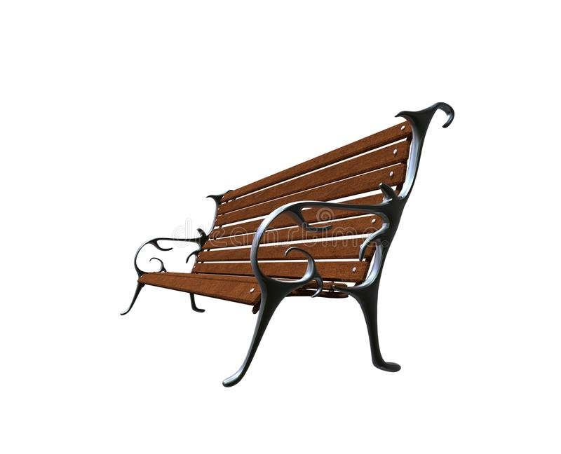 Bench Side View Stock Illustrations 495 Bench Side View Stock
