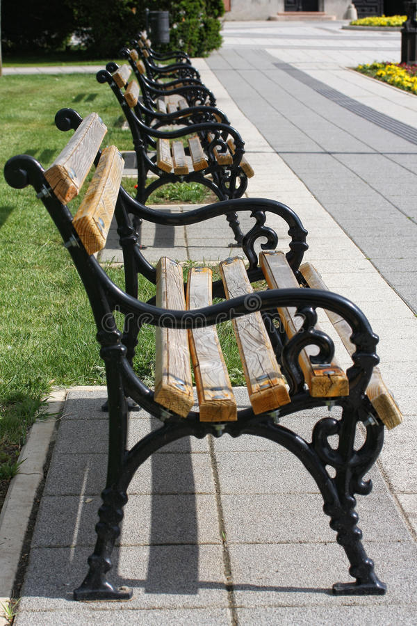 Download Park benches stock image. Image of natural, beautiful - 24954717