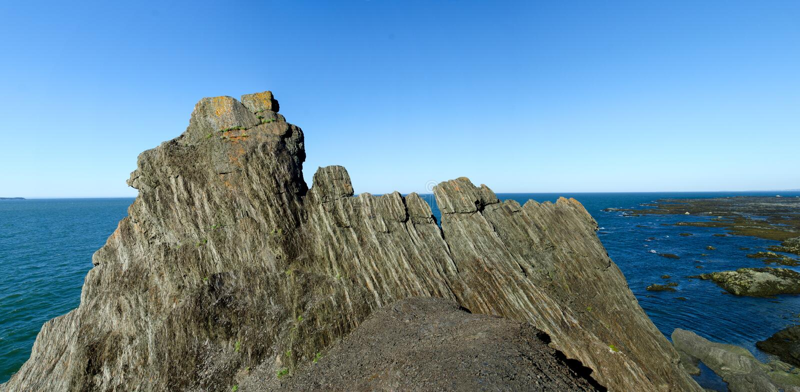 Download Park of Bic Rocks stock image. Image of national, island - 21150801